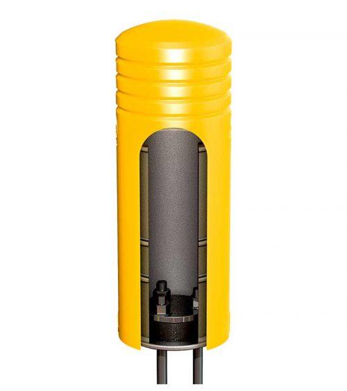 Deflector post - påkörningsskydd