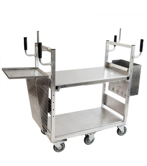 Plockvagn liten med tillbehör - till e-handel