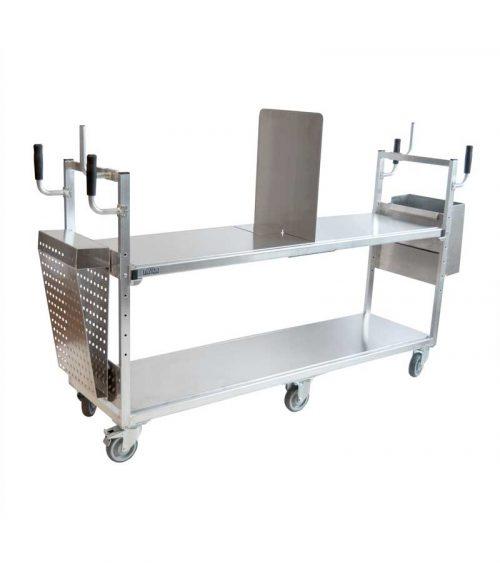 Plockvagn stor med tillbehör - till e-handel
