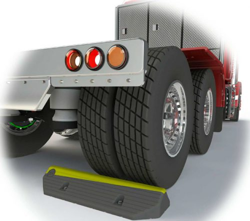 Truck Wheel Stop rubber