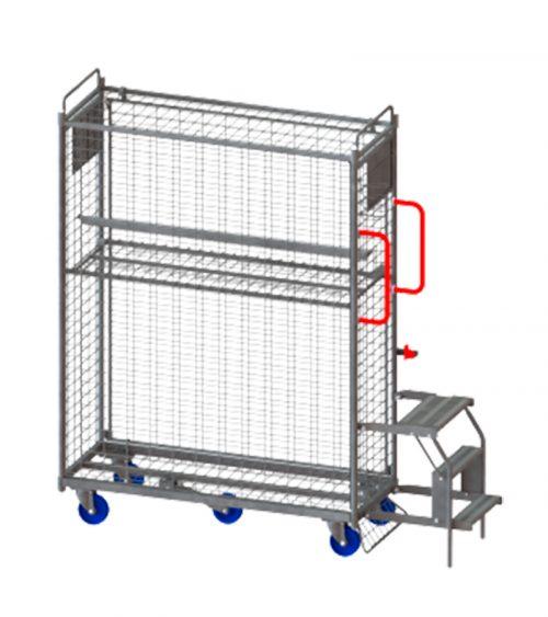 Plockvagn e-handel standard